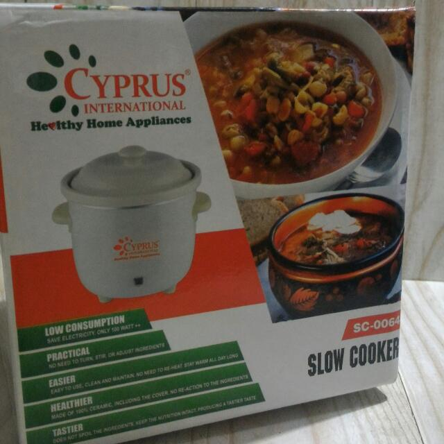 [Reprice-New] Cyprus Slow Cooker