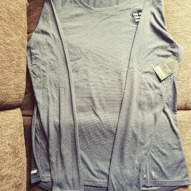 Danskin Performanc3 Semi Fit LS Tee - US Size L - Grey
