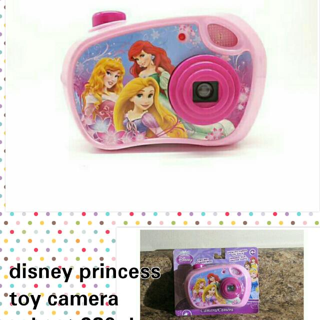 Disney Princess Toy Camera