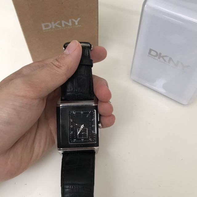 DKNY Reversible Digital & Analogue Watch