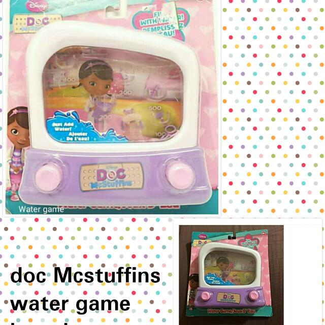 Doc Mcstuffins Water Game