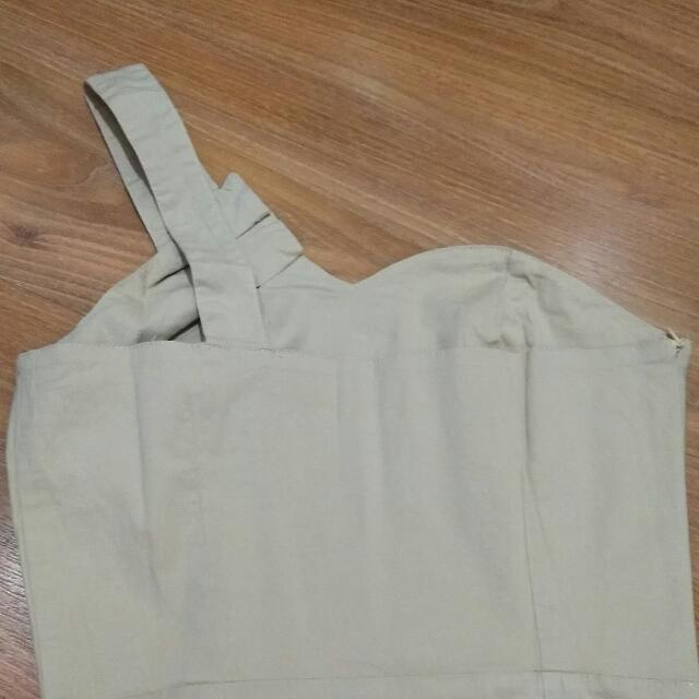 dress moca one shoulder