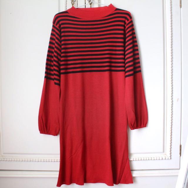 Dress Red SALE LEBARAN!