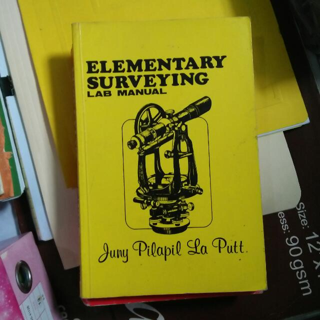 Elementary Surveying Lab Manual