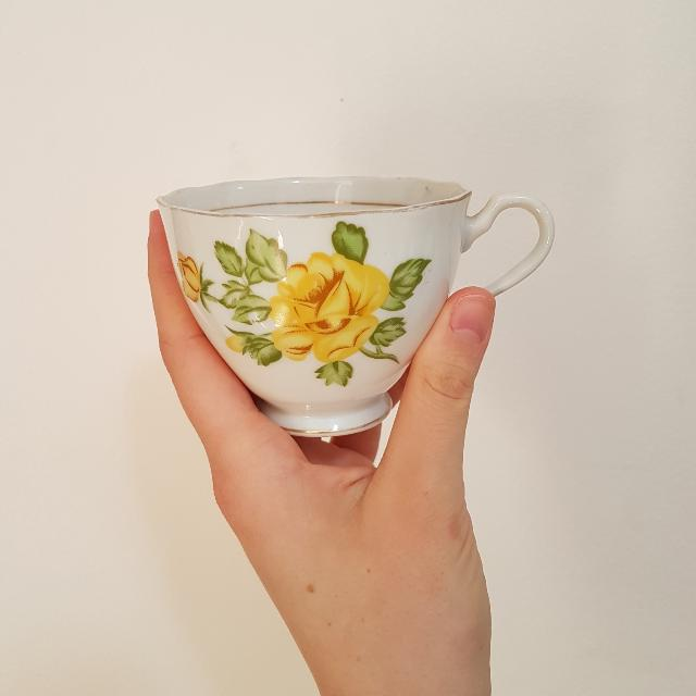 English Fine Bone China Teacup Set