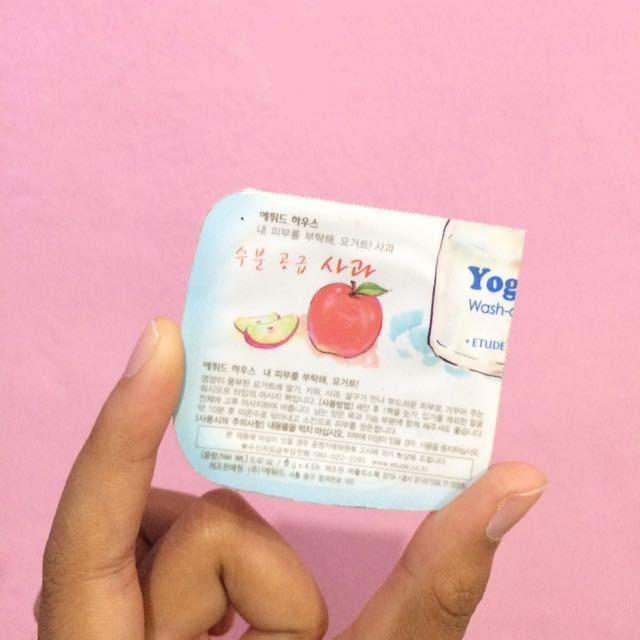 Etude house apple yoghurt mask