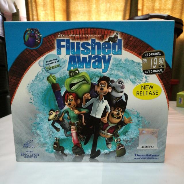 Flushed Away VCD