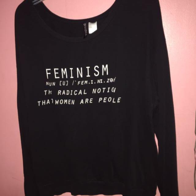 H&M Feminism Sweater