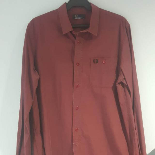Fred Perry Button-down Long Sleeves