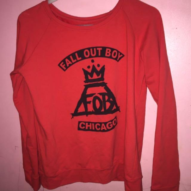 Fudge Rock Fall Out Boy Sweater