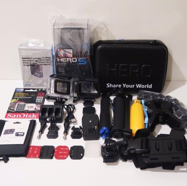GoPro Hero 5 台灣公司貨大組合