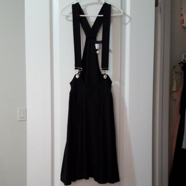 H&M Black Pini Dress