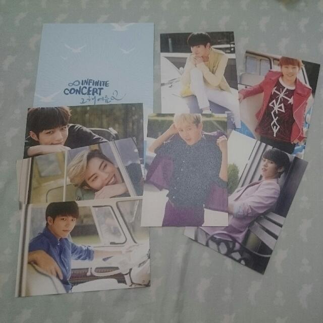 Infinite concert相框卡片
