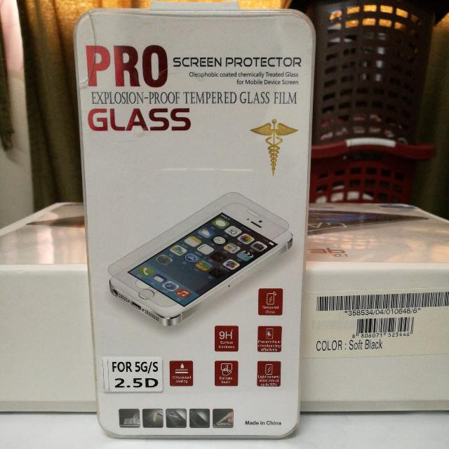 Iphone 5G/S Tempered Glass