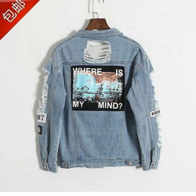 jacket denim import 1