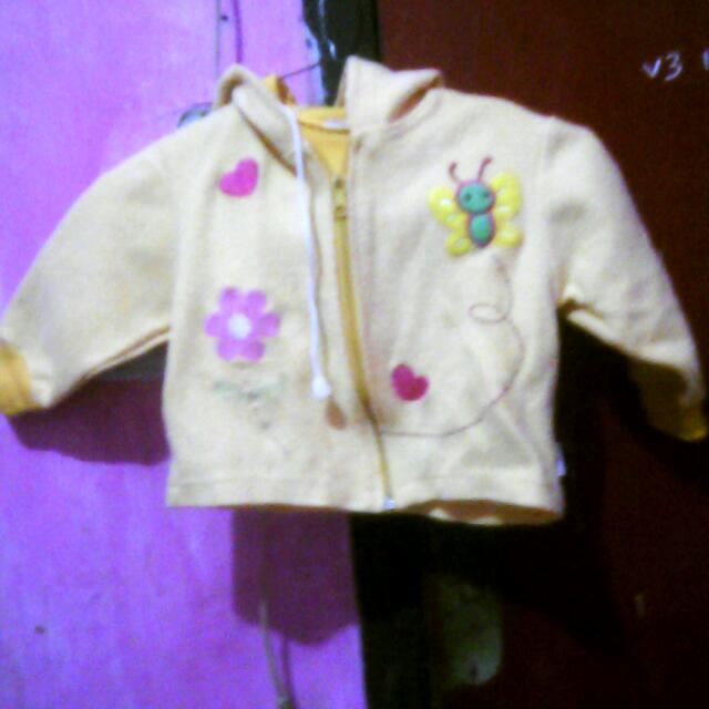 Jaket bayi 3-6bulan