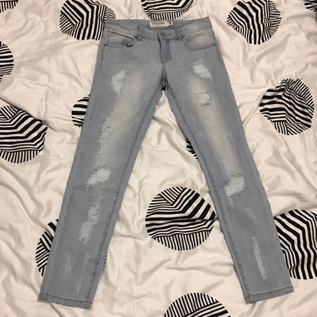 Just Jeans Light Blue Ripped Jeans