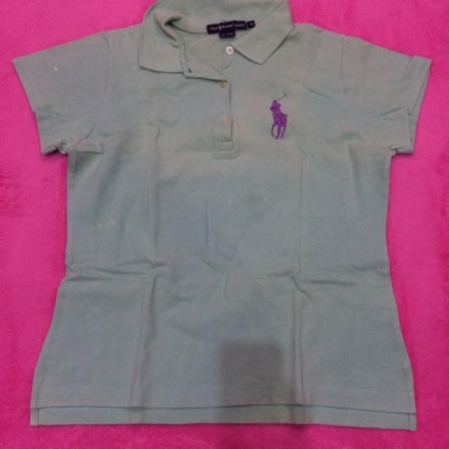 Kaos Polo Berkerah Hijau Size XL