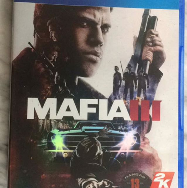 Kaset Ps4 Mafia III