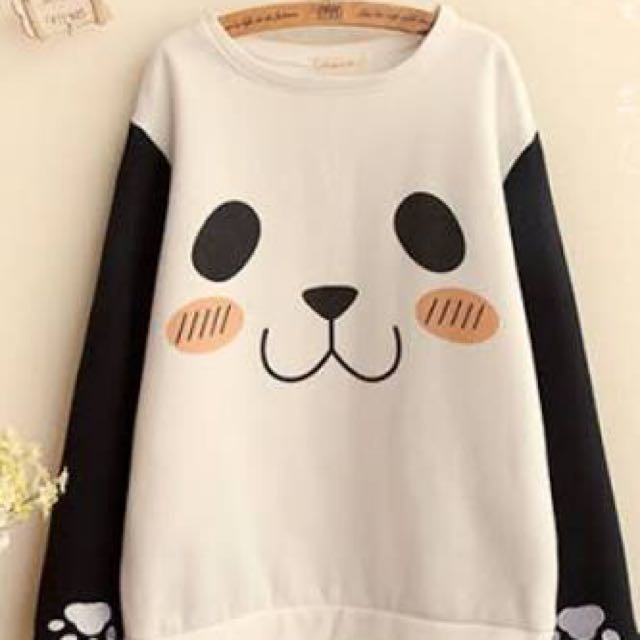 Kawaii Panda Jacket