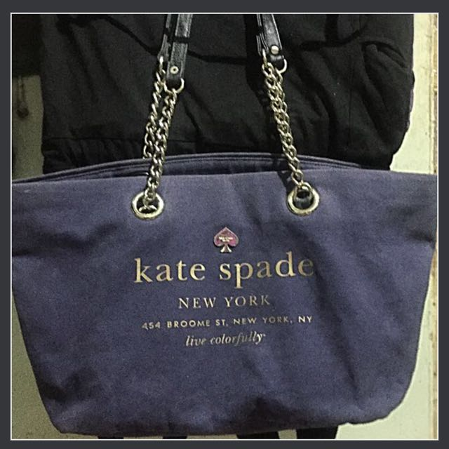 Kate Spade chain Bag denim