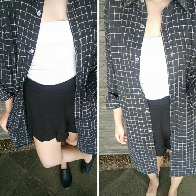 Kemeja Panjang / Long Shirt / Outer Panjang / Outer / Kemeja Outer