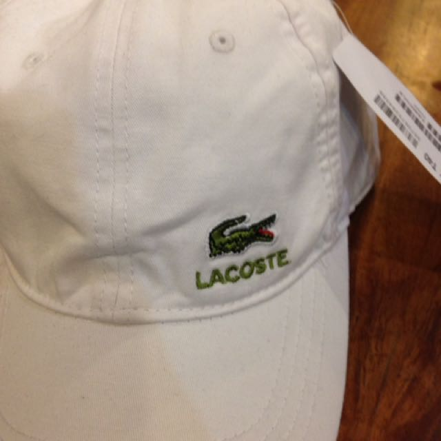 Lacoste Caps 💯Authentic