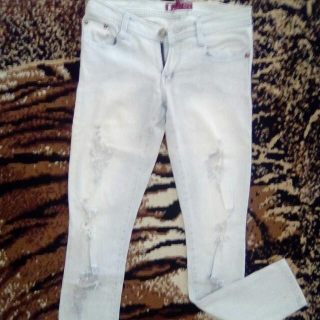 legacy rubbed jeans size M