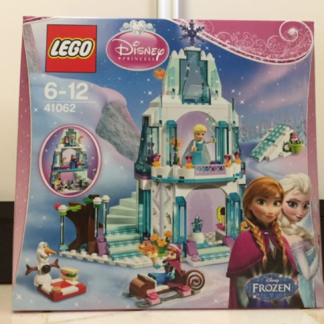 Lego 41062 Disney Princess Elsa's Sparkling Ice castle, Toys & Games, Bricks & Figurines on Carousell