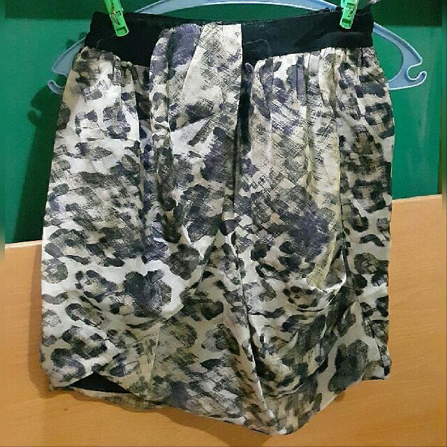 Leopard Skirt (fits small to medium)