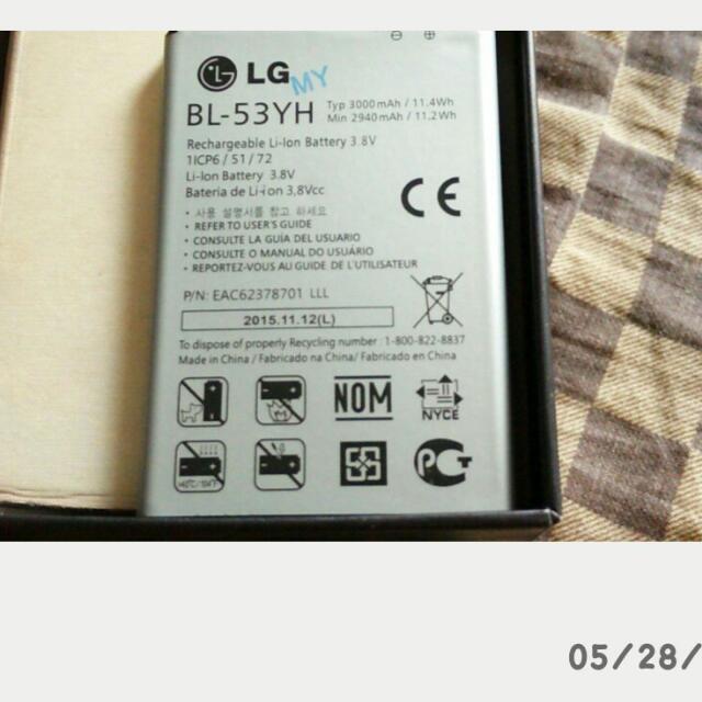 LG G3原廠電池
