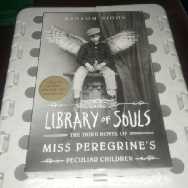 Library Of Souls Ransom Riggs Epub