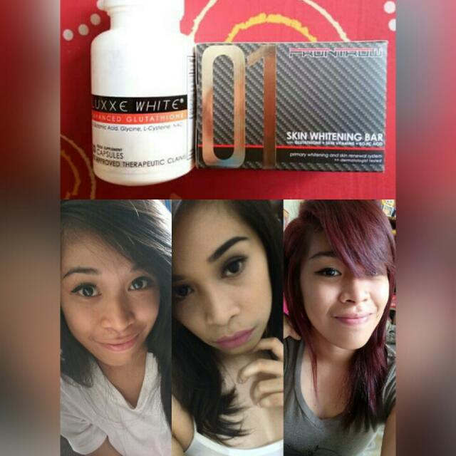 Luxxe White glutathione And Soap Bar