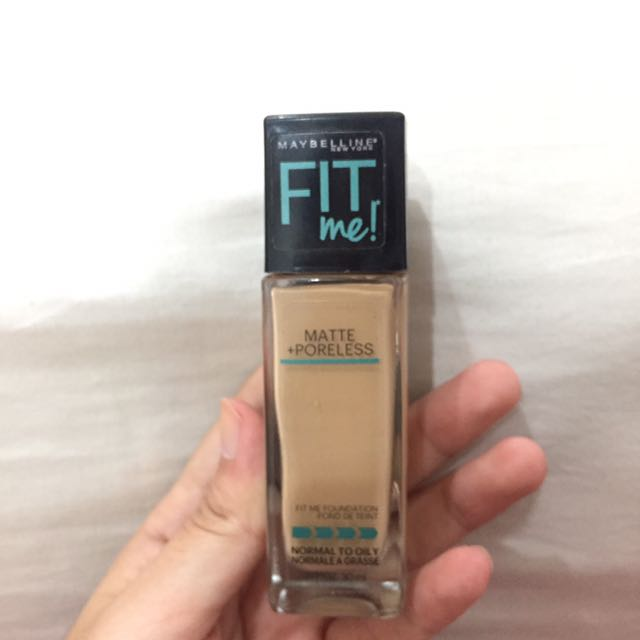 Maybelline Fit Me Foundation!