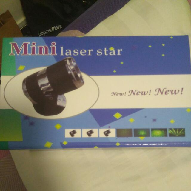 Mini LASER STAR LIGHT