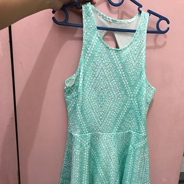 Mint Dress Aeropostale