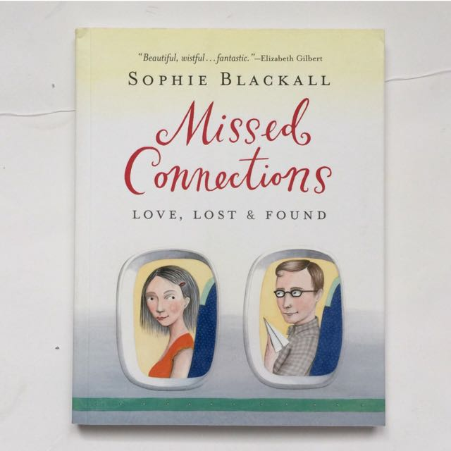 Missed Connections by Sophie Blackall