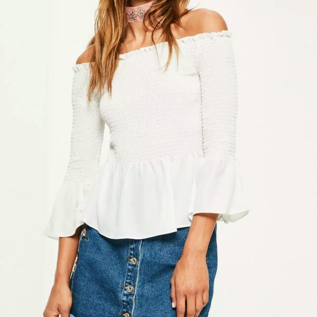 missguided bardot blouse
