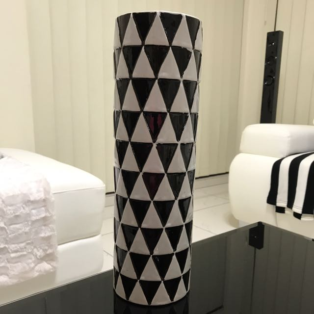 Monochrome Ceramic Vase