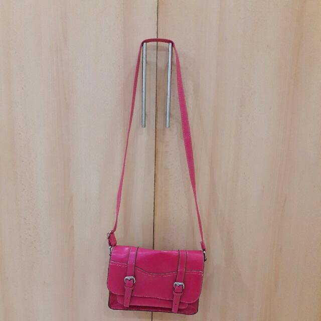 Mossimo Pink Satchel BAG