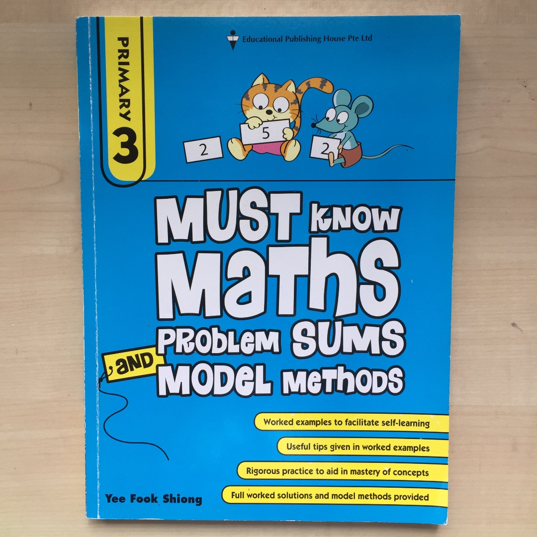 Must know Maths Problem Sums Model Methods - P3, Books & Stationery ...