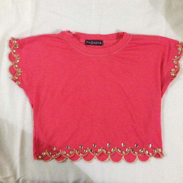 NEW beads croptop