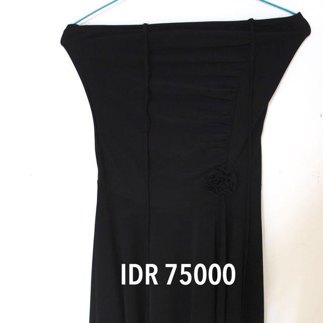 Preloved - No Brand Black Dress