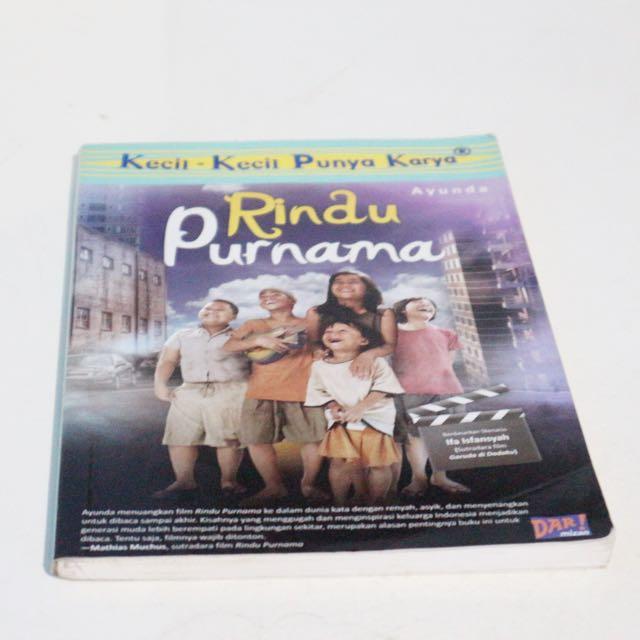 Novel Rindu Purnama