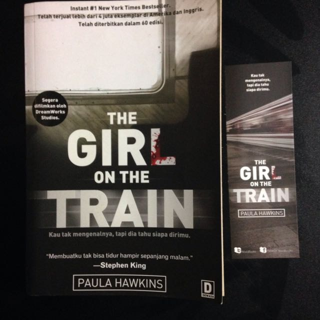 Novel Thriller Horror Girl On The Train