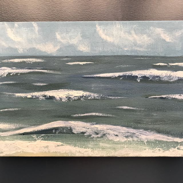 Original Wave Painting