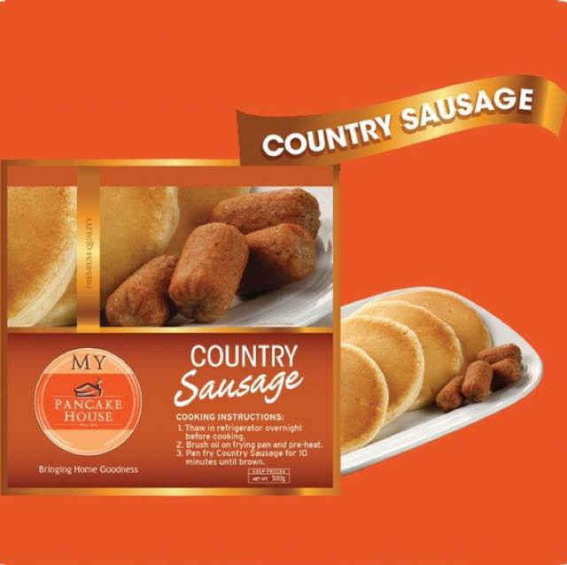 PANCAKE HOUSE Country Sausages (Frozen)
