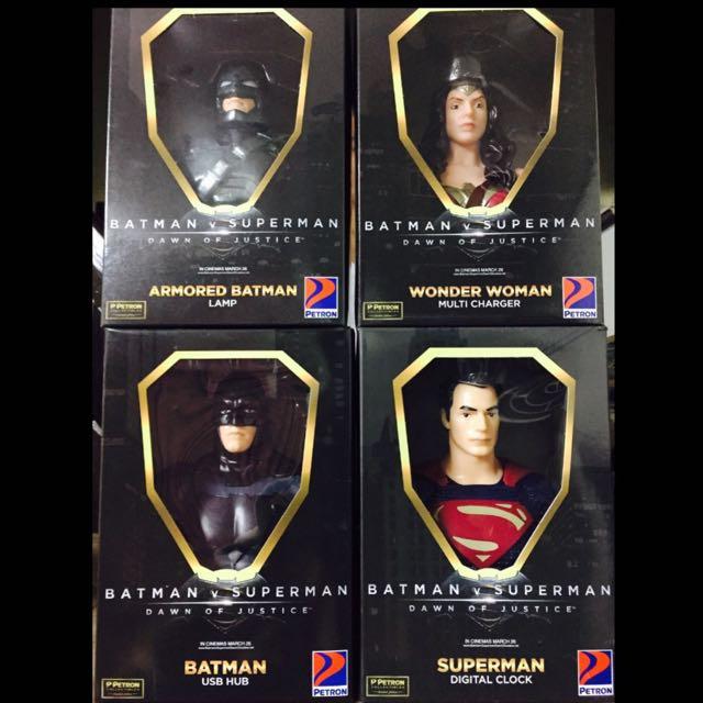 Petron Batman V Superman Collectibles