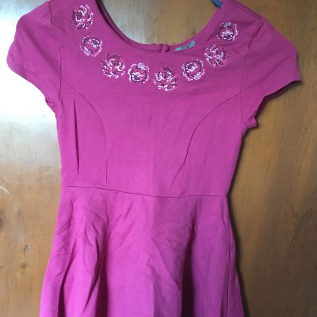 Purple Pumpkin Patch Dress
