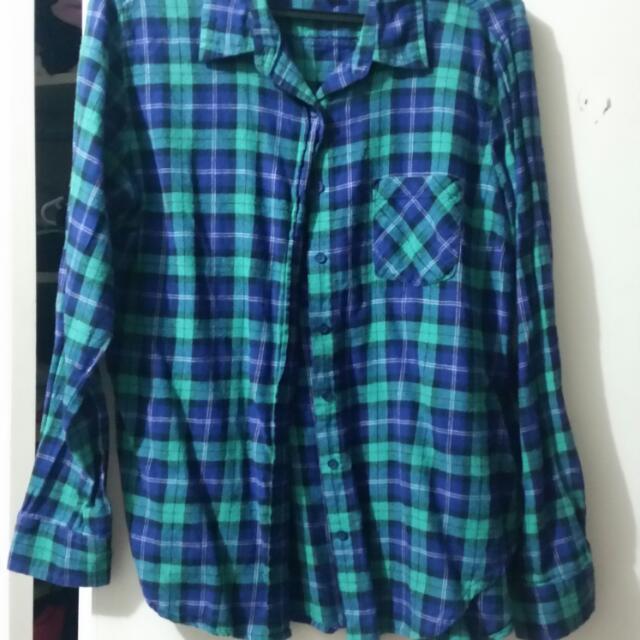 Plaid Shirt (Size M)